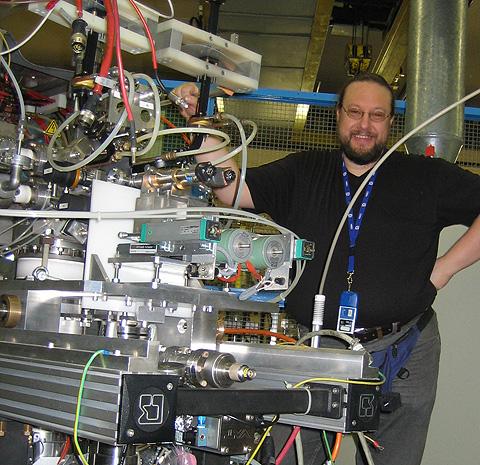 Dr. Detlef Küchler am CERN