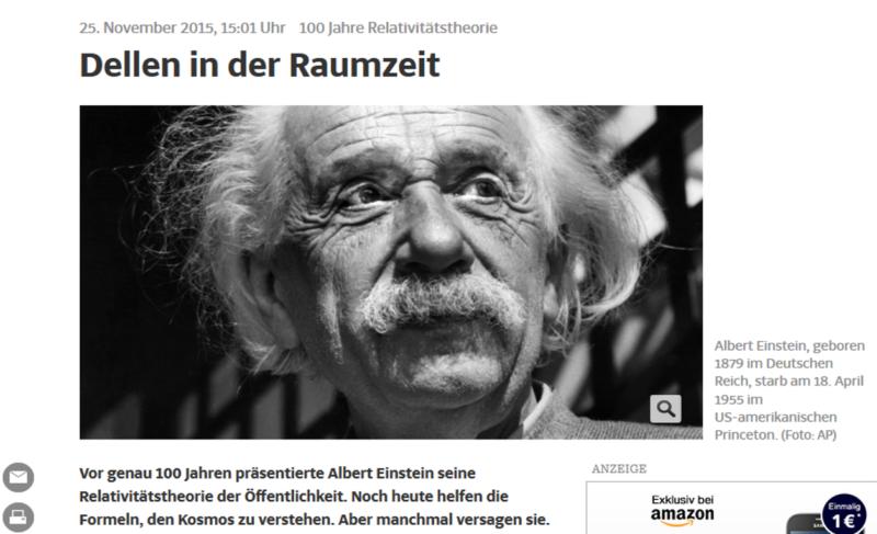 Einstein Kritiker Oder Wie Viele Menschen Verstehen Die