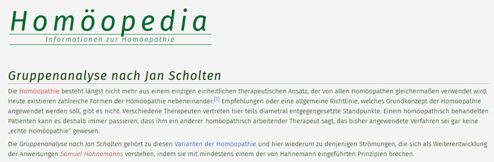 Neu In Der Homöopedia Wie Ein Homöopath Mal Eben So Das
